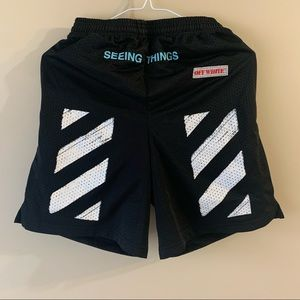 Off-White black shorts